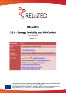 Energy flexibility and District Heating Control