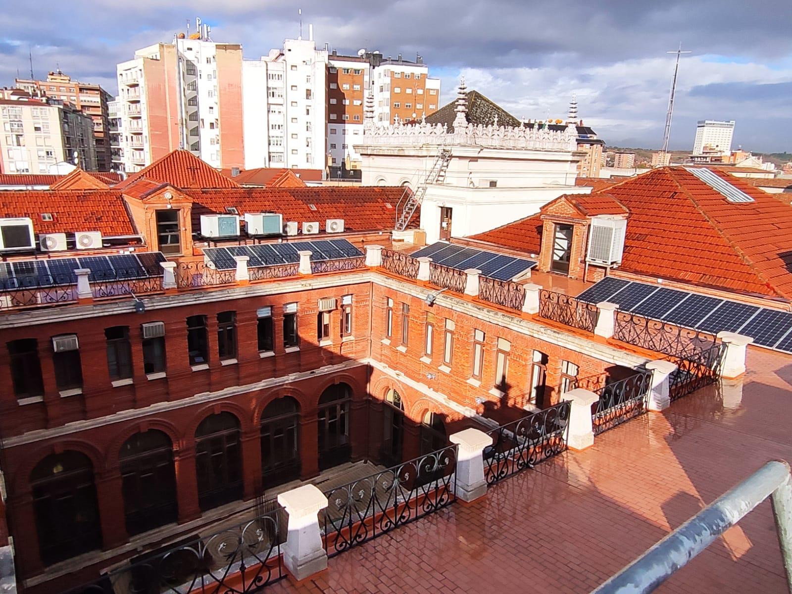 The City Council of Valladolid committed to solar energy