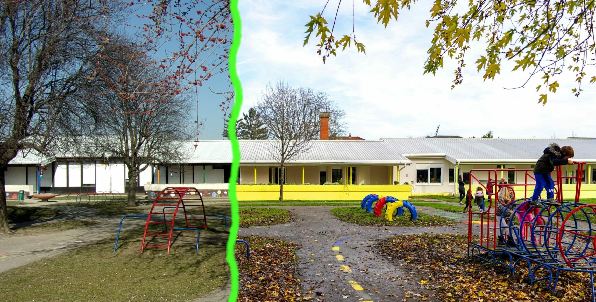 Extensive energy transformation of a prefabricated kindergarten building using Public Procurement of Innovation