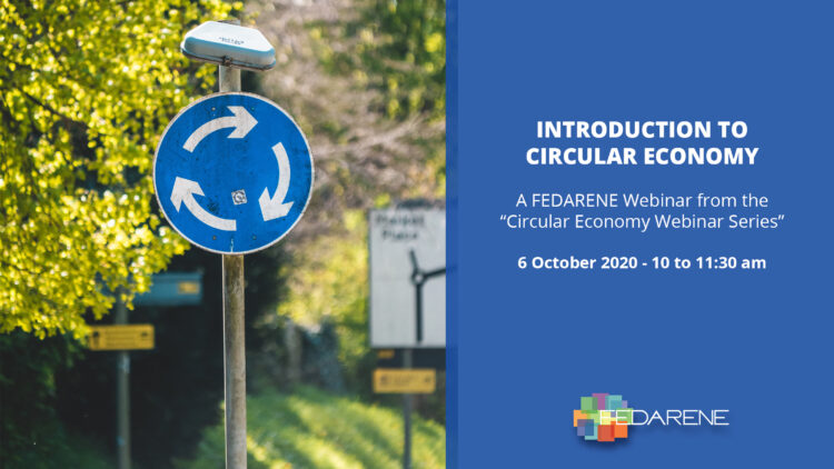 FEDARENE Webinar: Introduction to Circular Economy
