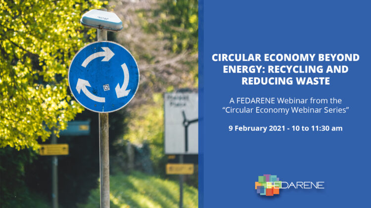 Circular Economy beyond Energy: Recycling and Reducing Waste