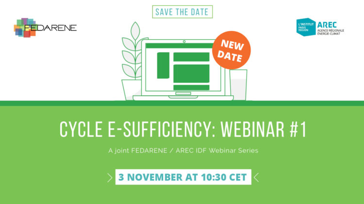 Cycle E-Sufficiency webinar #1: consumers and buildings