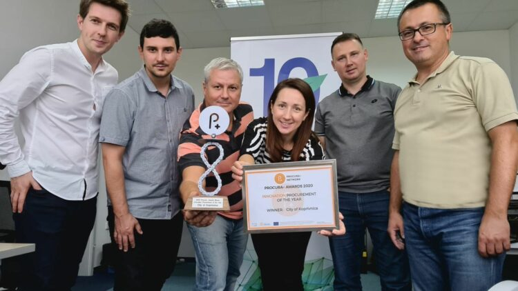 City of Koprivnica and REA North win Procura Award for Innovation procurement of the Year