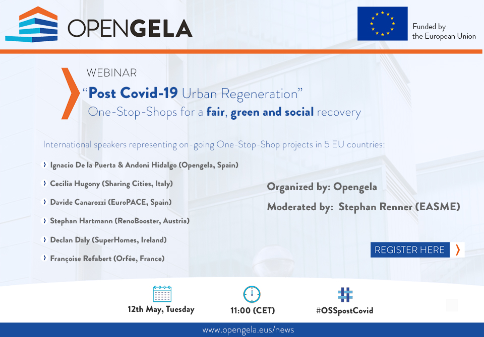 Webinar-Post Covid-19 Urban Regeneration: One-Stop-Shops for a fair, green and social recovery'