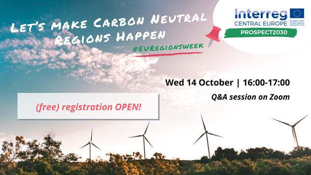 Let's make carbon neutral regions happen