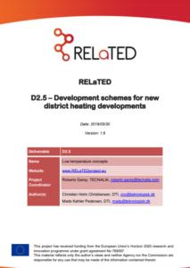Development schemes for new district heating developments