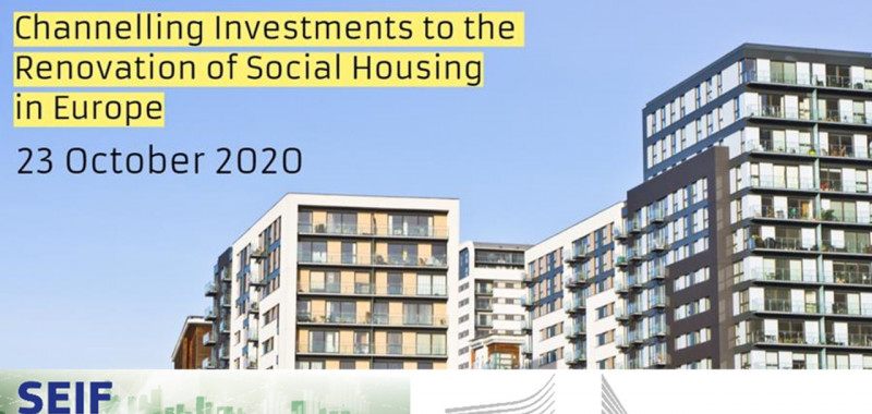Channelling Investments to the Renovation of Social Housing in Europe