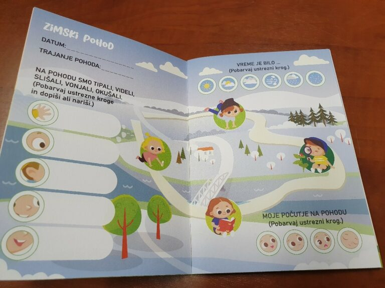 Hiking Booklet – Fostering Sustainable Mobility in kindergartens