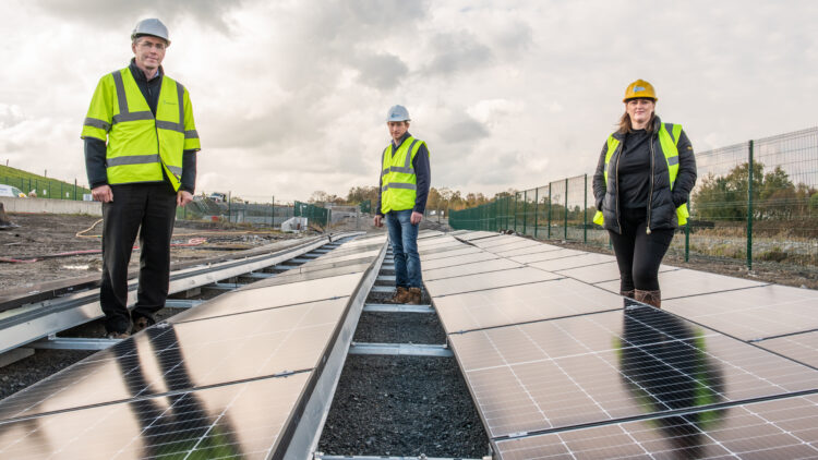 Tipperary County Council generates renewable energy from Solar photovoltaic panels at a landfill site