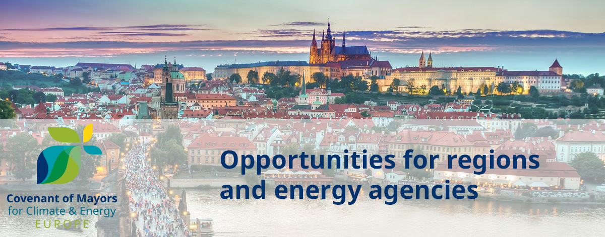 What can CoM offer to regions and energy agencies?