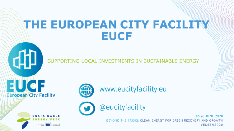 EUCF @ EUSEW 2020 | Cities Driving the Green Recovery