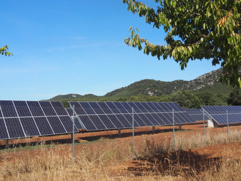 Solar-powered irrigation system in Orbaso capable of pumping water to 30 hectares of cropland