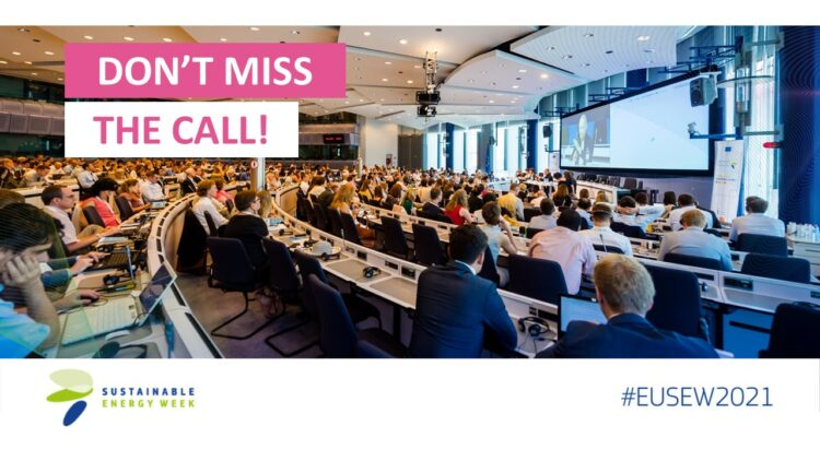 EUSEW 2021: Host a session during the Policy Conference