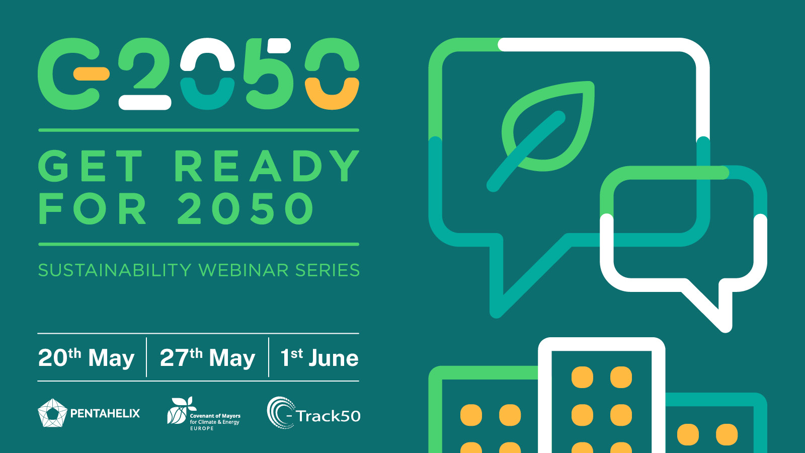 GET READY FOR 2050: the upcoming event series you don't want to miss