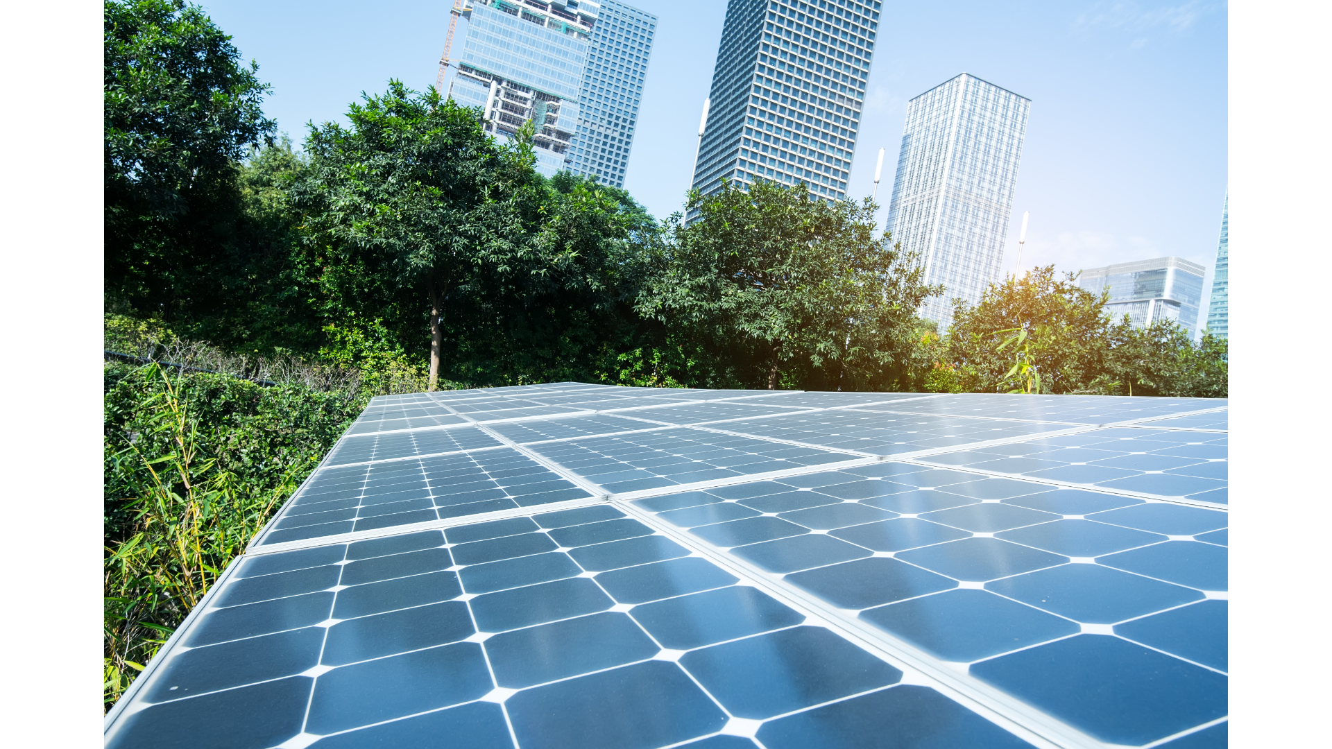 Solar energy solutions for decarbonizing ULT DHC