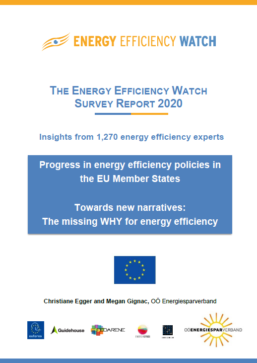 """The missing """"WHY"""" for energy efficiency – EEW4 Survey Results"""