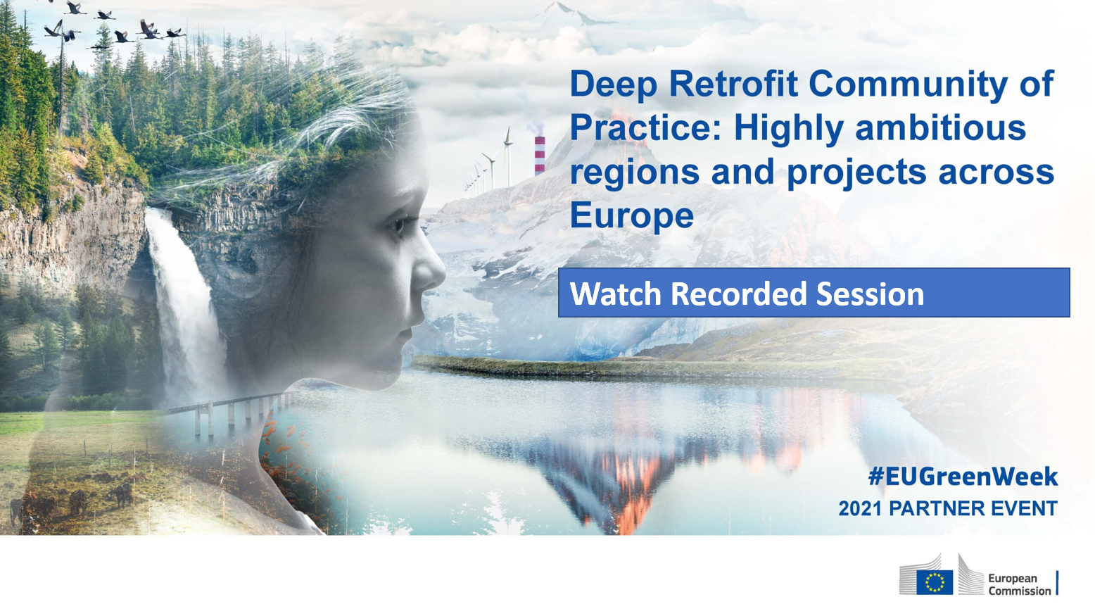Deep Retrofit Community of Practice: meet ambitious regions and projects!