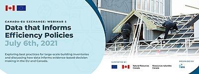 Canada-EU exchange: Data that Informs Efficiency Policies