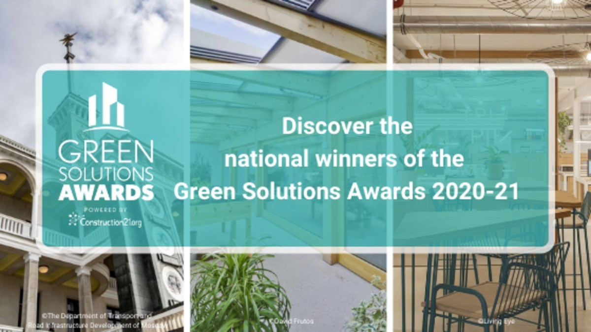 National Winners of the Green Solutions Awards 2020-2021
