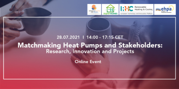 Matchmaking Heat Pumps and Stakeholders: Research, Innovation and Projects