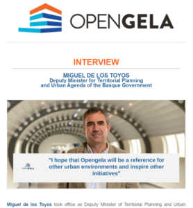 «I hope that Opengela will be a reference for other urban environments and inspire other initiatives»