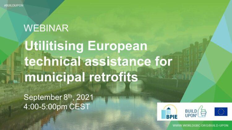 Utilising European technical assistance for municipal retrofits