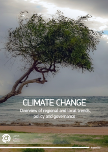 Climate Change – Overview of regional and local trends, policy and governance