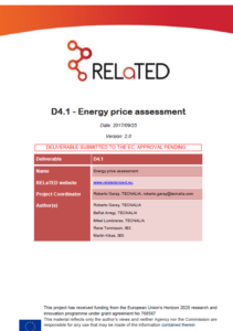 Energy Price Assessment: an insight to energy costs in the context of District Heating